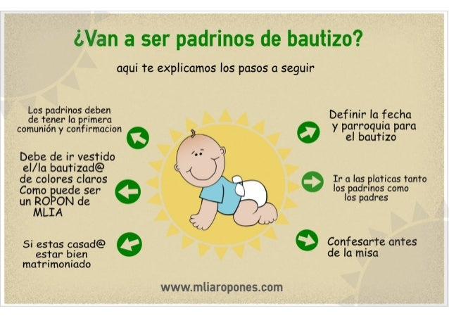 Padrinos De Bautizo Mlia Ropones