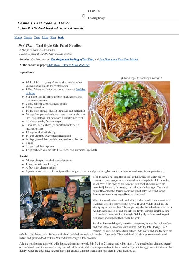 Pad thai recipe home classes trips more blog back pad thai forumfinder Image collections