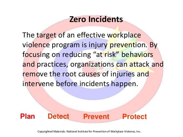 DOL Workplace Violence Program - Appendices