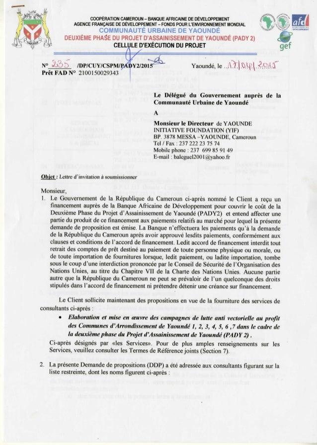 Pady2, lettre à soumissionner001