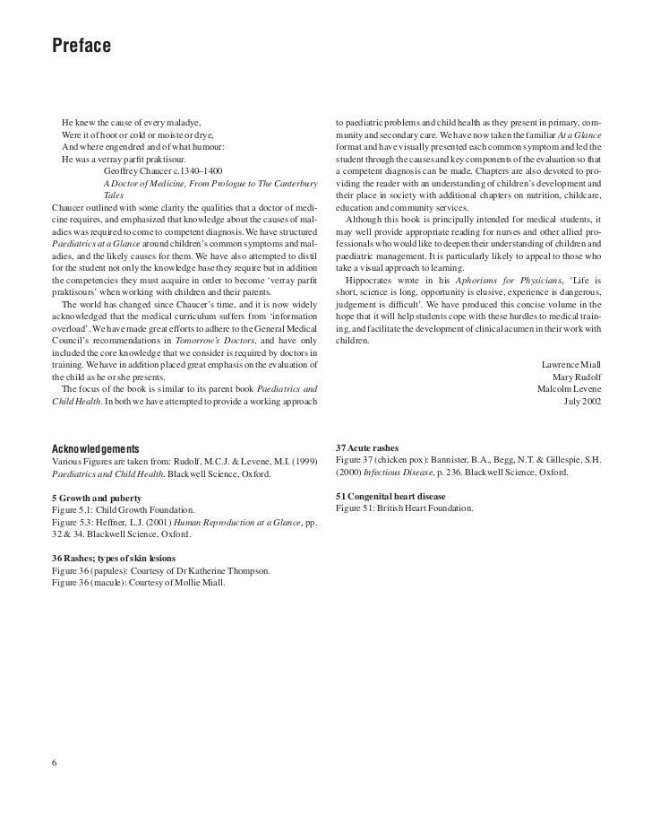 Pediatrics At A Glance Pdf