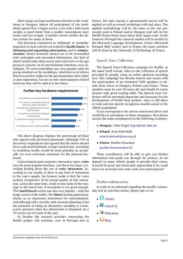PaeLife Newsletter 2 (English) Slide 2