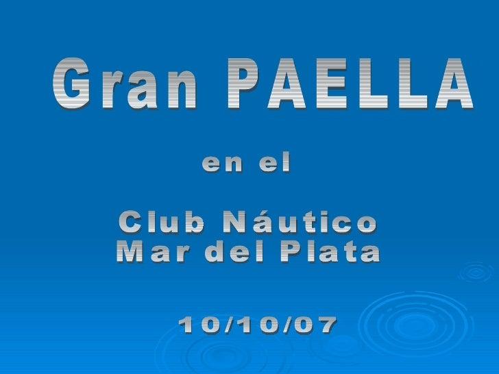 Héctor Antuña      Paellas * Asados      472-3138  Mar del Plata - Argentina