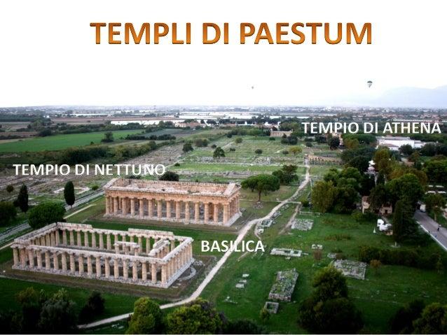 BASILICA TEMPIO DI ATHENA TEMPIO DI NETTUNO