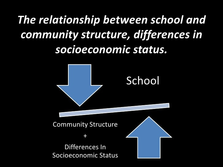 discuss the relationship between school and community