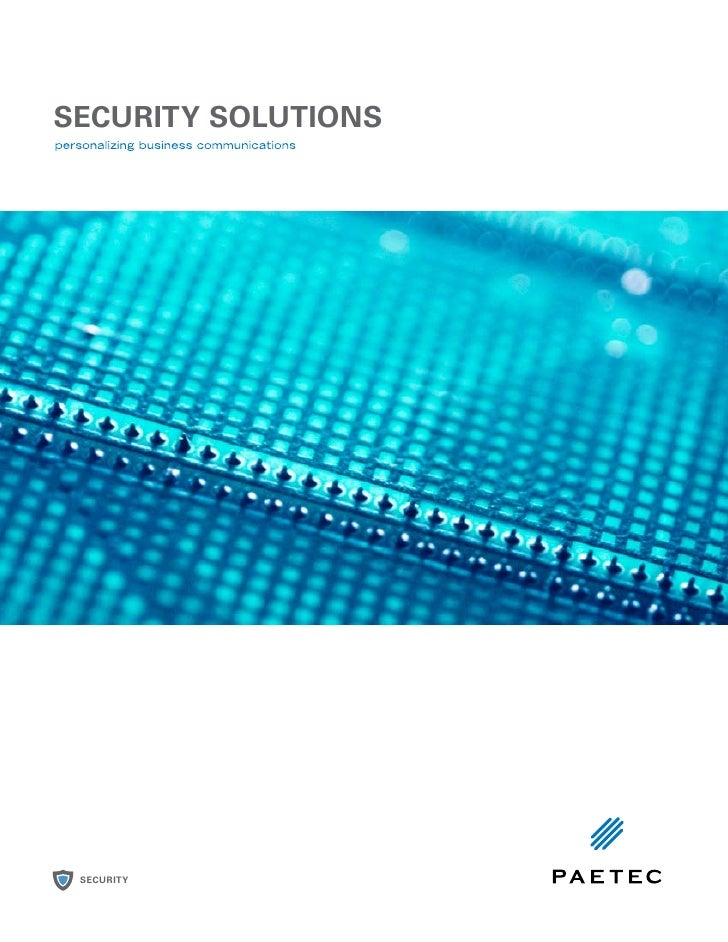 SECURITY SOLUTIONS SECURITY