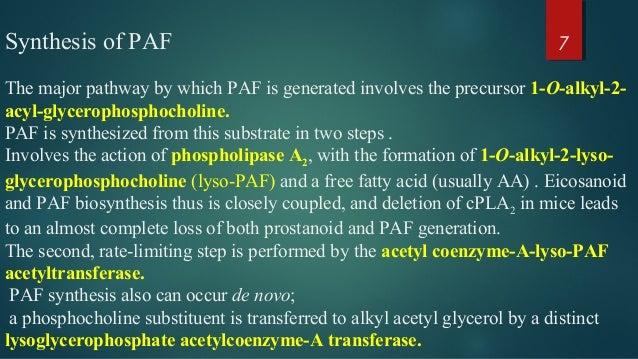 platelet activating factors by aisha siddiqui