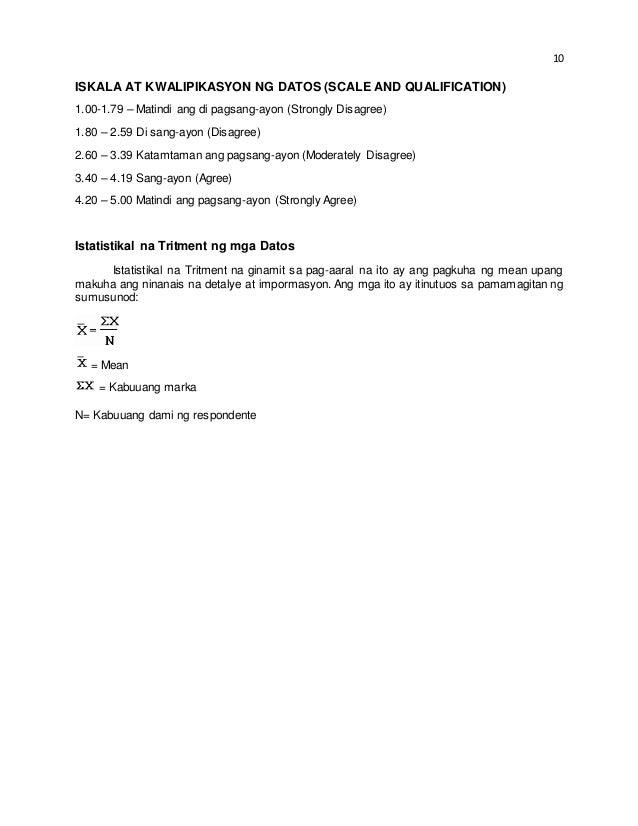 Mga example ng thesis