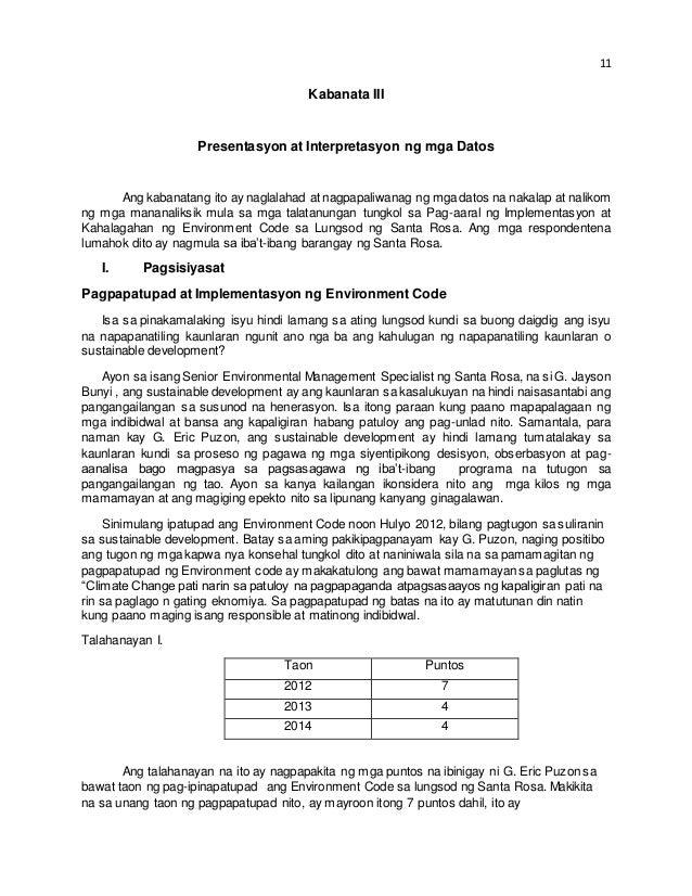 filipino thesis abstract tagalog