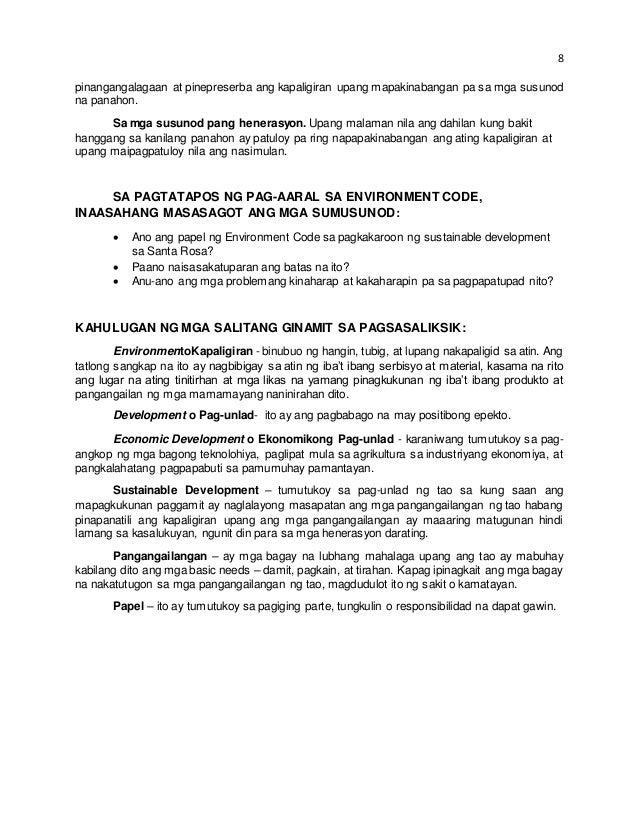 abstract ng isang thesis sa filipino