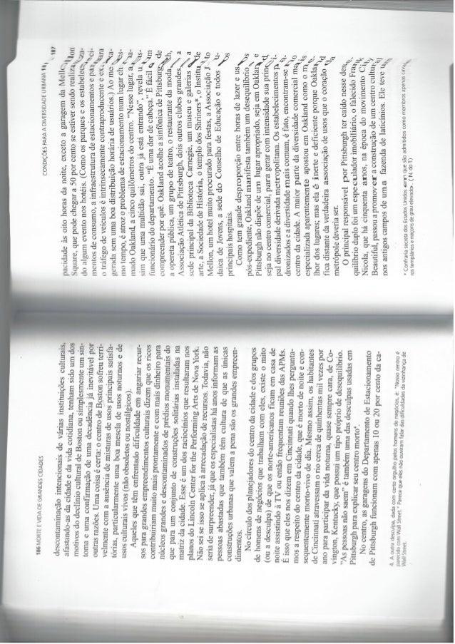 LIVRO JANE JACOBS - Pag. 185 a 386