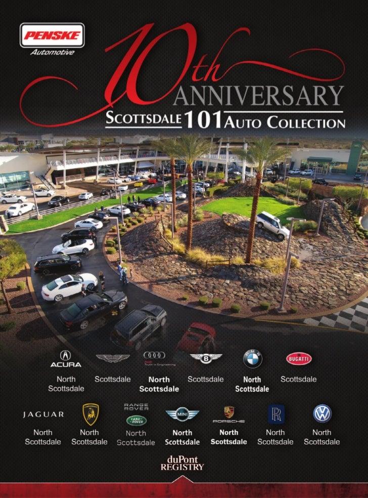 Penske Automotive's Scottsdale 101 Auto Collection Celebrates   10 Years - An Insider's Tour of An Automotive Theme Park I...