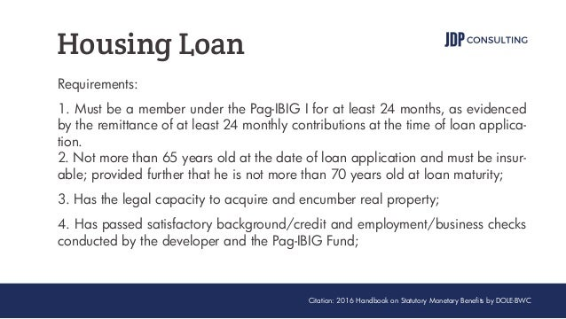 Permalink to Pag Ibig Cash Loan Requirements