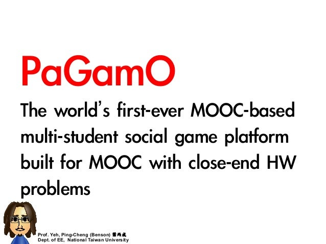 PaGamO, really enhance the learning performance! Slide 2