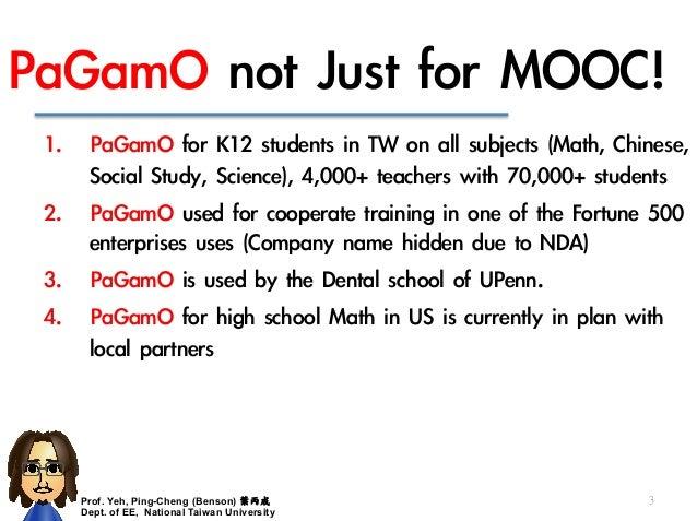 PaGamO, really enhance the learning performance! Slide 3