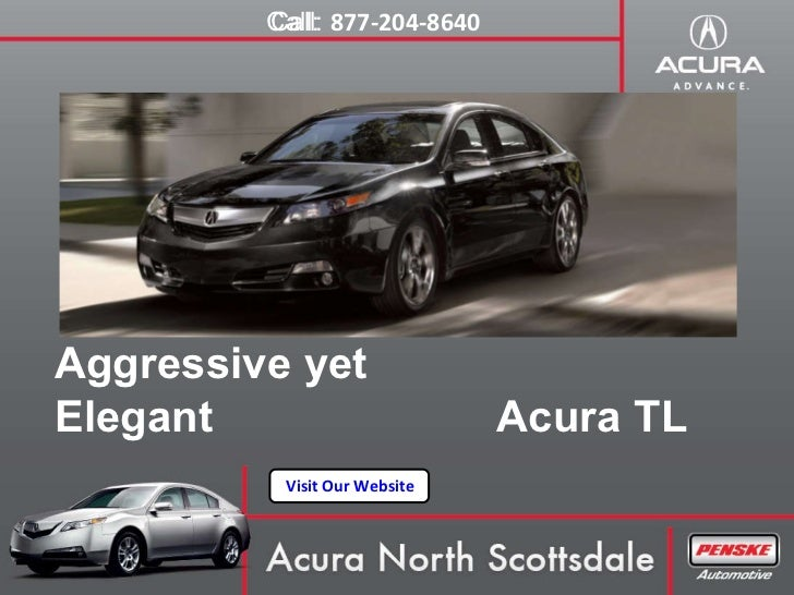Acura North Scottsdale >> Acura Tl North Scottsdale Arizona