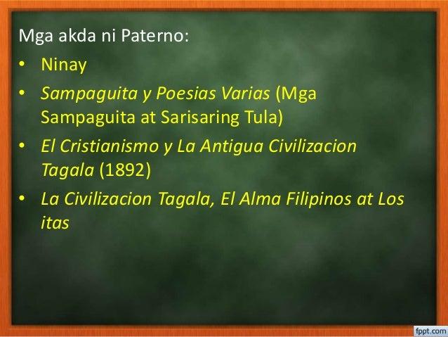 sampaguita y poesias varias by pedro paterno Ito ay isang banghay aralin sa ap 10 limitasyon sa pagsukat ng gnp ang kurikulum sa filipino batayan ng pagtuturo sa sekondari  katutubong panitikan.