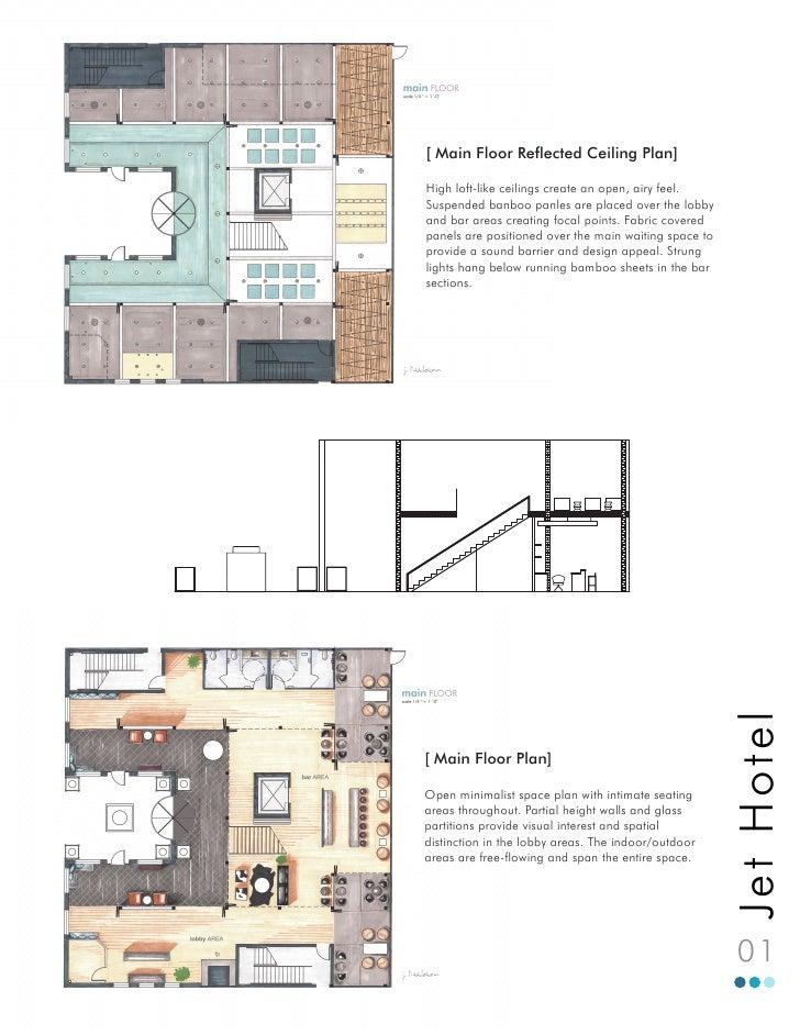 [ Main Floor Reflected Ceiling Plan] High loft-like ceilings create an open,
