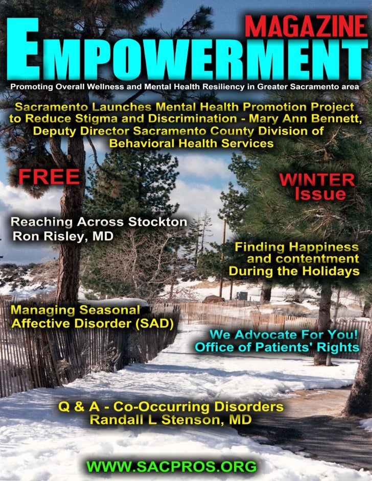 Page 1   winter issue of empowerment magazine