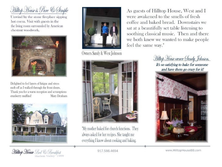 Page 2 Two Brochure Hilltop