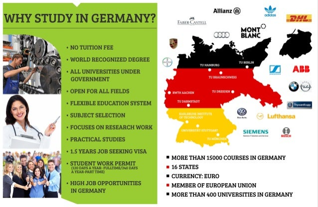 Why Study In Germany - Mackwins Education