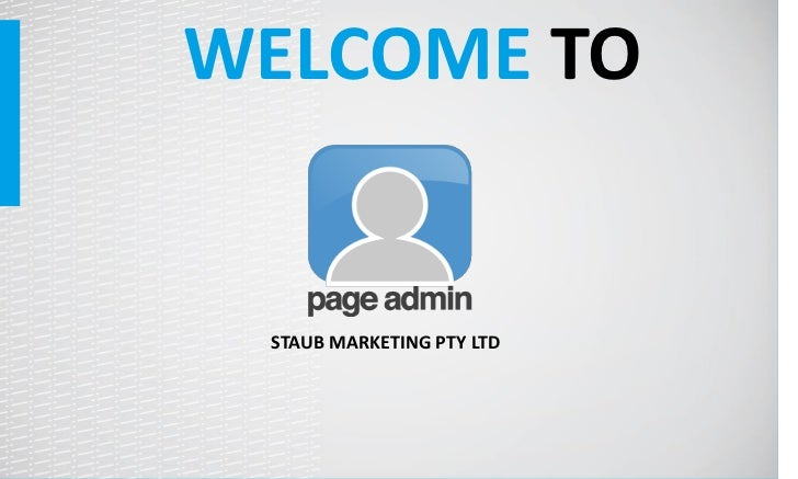 WELCOME TO STAUB MARKETING PTY LTD