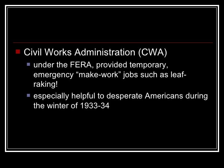 Today in labor history: FDR unveils Civil Works Administration