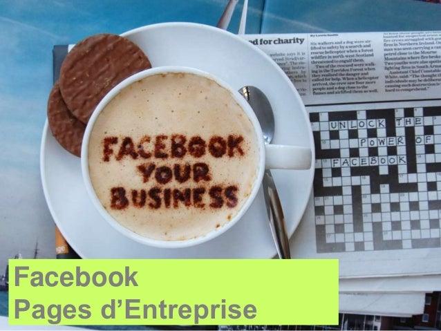 FacebookPages d'Entreprise
