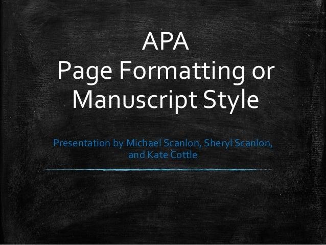 apa style guide version 6