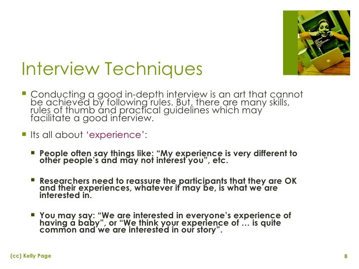 imterviewing techniques Interviewing millennials requires a different approach learn some new interviewing techniques with these tips from greenjobinterview.