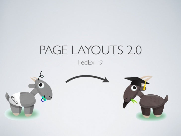 PAGE LAYOUTS 2.0      FedEx 19