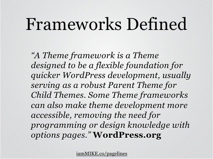 PageLines is the Best WordPress Theme Framework Slide 3
