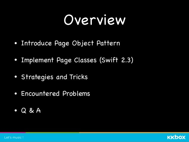 What is Page Object? Reference by Martin Fowler
