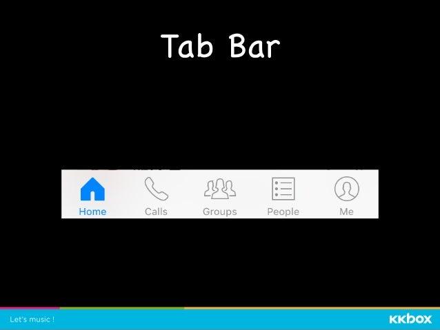 Tab Bar protocol MessengerTabBar { // ... } extension MessengerTabBar { private var homeButton: XCUIElement { return Page....