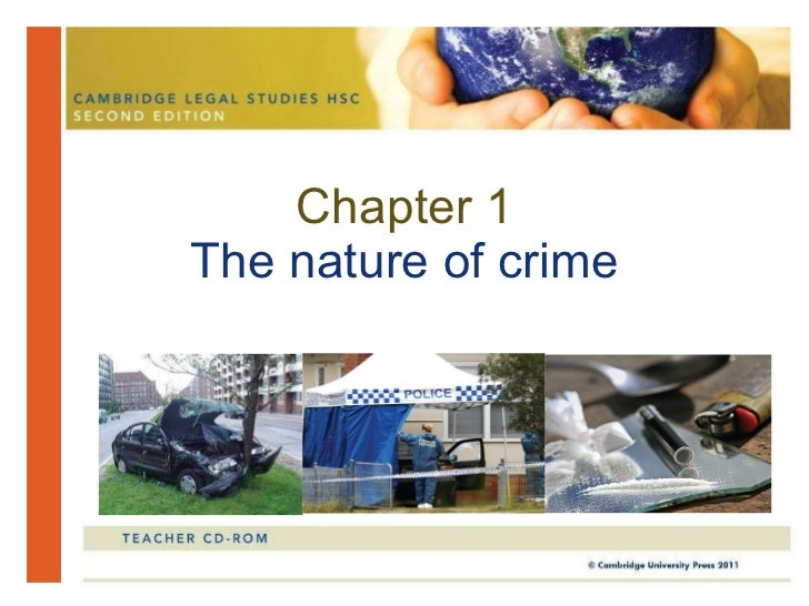 Chapter 1 The nature of crime