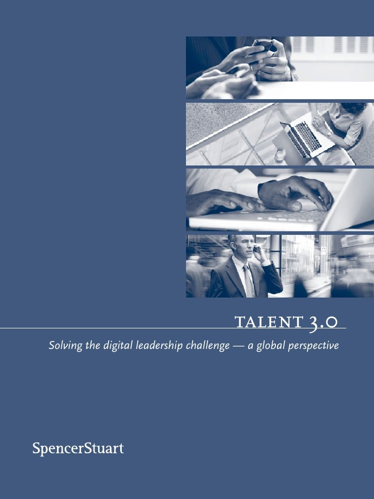 talent 3.0 Solving the digital leadership challenge — a global perspective