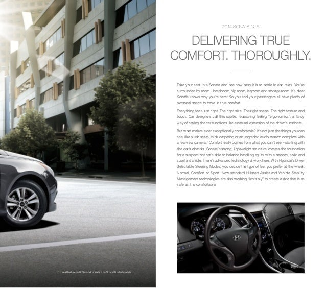 Hyundai Sonata Gls 2014: 2014 Hyundai Sonata Available For Jacksonville Hyundai