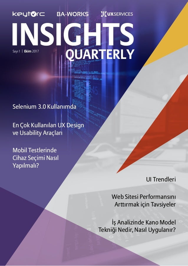 Insights quarterly   ekim 2017