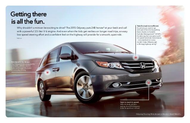 2015 honda odyssey brochure jackson ms area honda dealer for Honda dealership las cruces