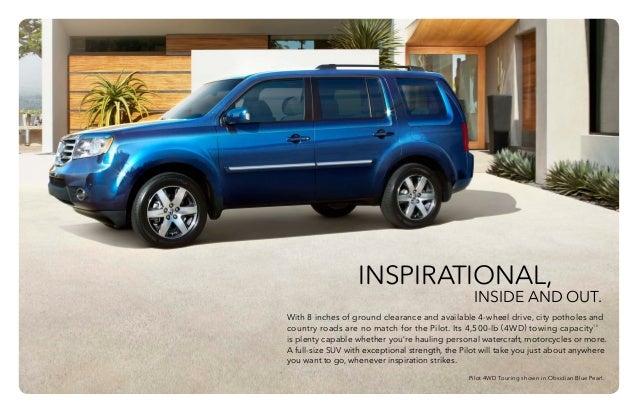 2015 honda pilot brochure | jackson ms area honda dealer