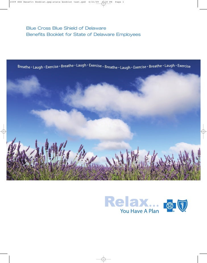 Blue Cross Blue Shield of Delaware Benefits Booklet for State of Delaware Employees