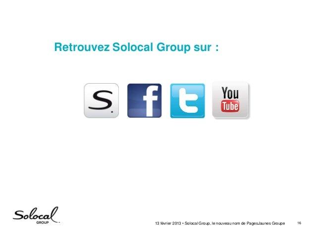 Solocal Group, le nouveau nom de PagesJaunes Groupe