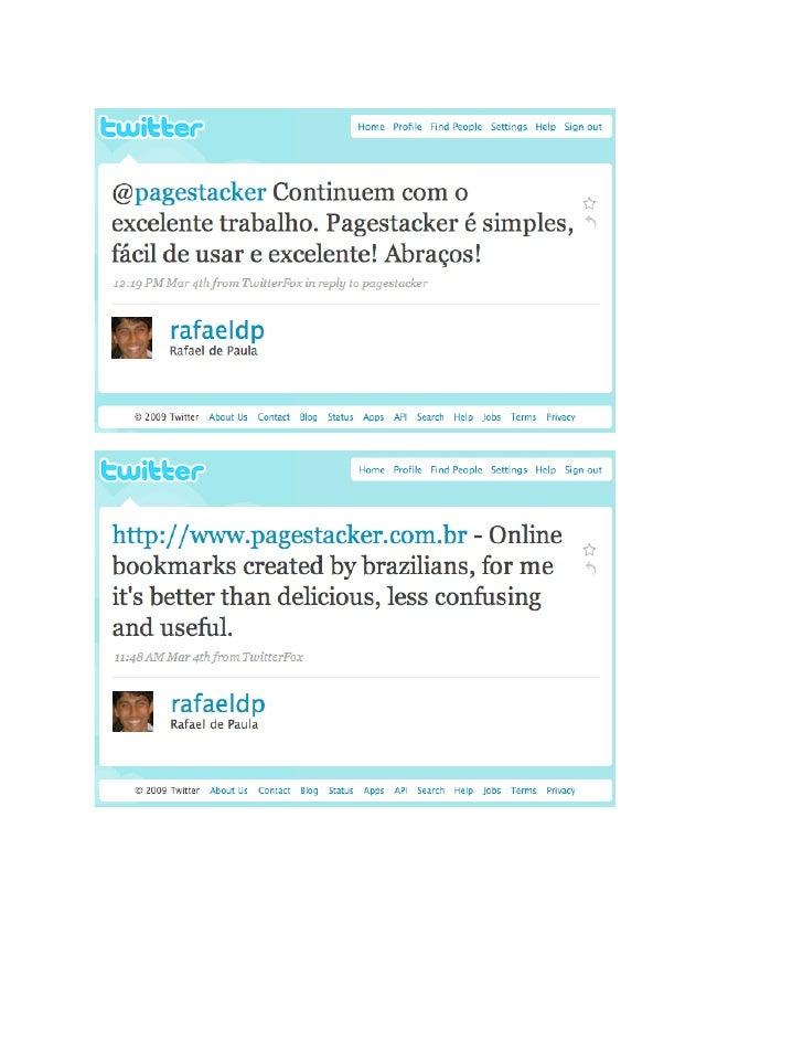 Pagestacker - opiniões de usuários