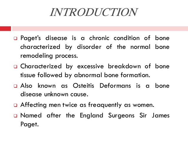 Paget disease Slide 2