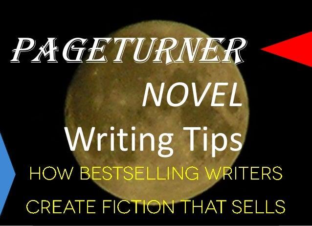 Writing a novel tips