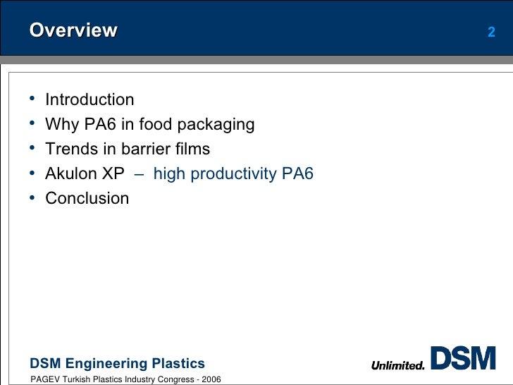 Pagev dsm presentation pa6 in film Slide 2