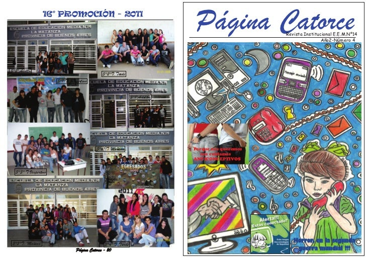 16° PROMOCIÓN - 2011                                                                               Página Catorce       Re...