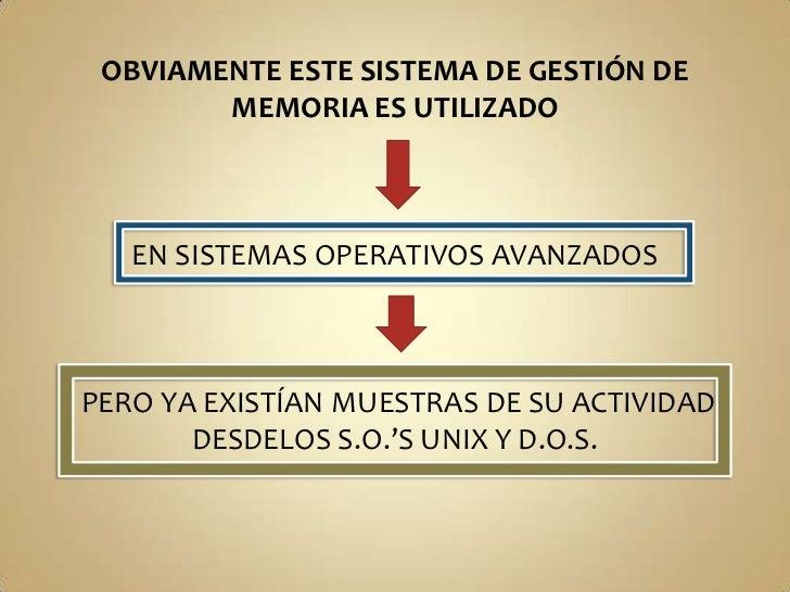 OBJETIVOS ALCANZADOS CON LA<br />SEGMENTACIÓN DE MEMORIA<br /><ul><li>MODULARIDAD DE PROGRAMAS:CADA RUTINA DEL PROGRAMA P...