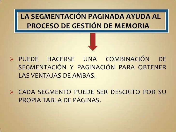 COMPARTICIÓN:DOS O MÁS PROCESOS PUEDEN SER UN MISMO SEGMENTO, BAJO REGLAS DE PROTECCIÓN; AUNQUE NO SEAN PROPIETARIOS DE L...