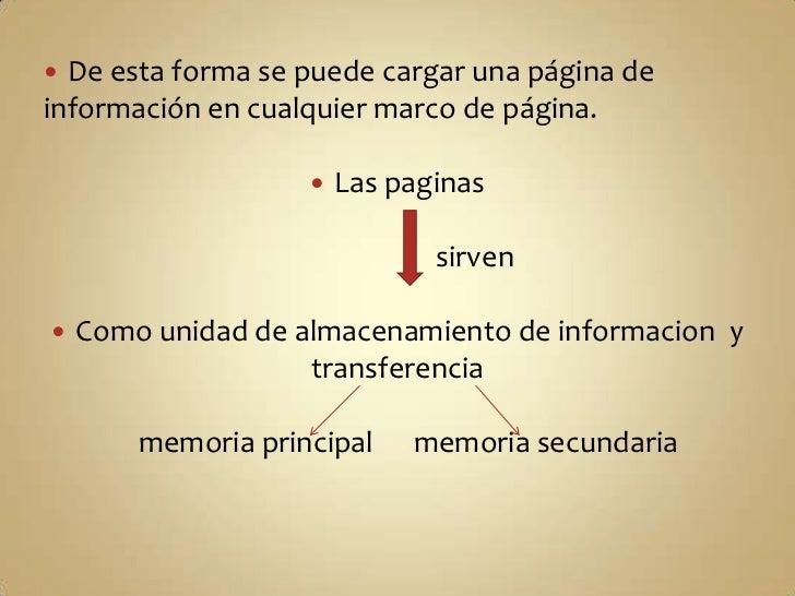 De esta forma se puede cargar una página de información en cualquier marco de página.<br />Las paginas<br />              ...